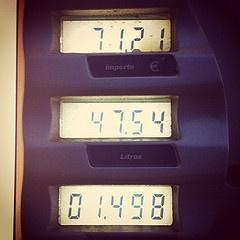 Así no se puede seguir...Gasolina 95