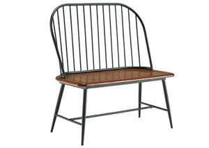 Shanilee Black Double Dining Chair