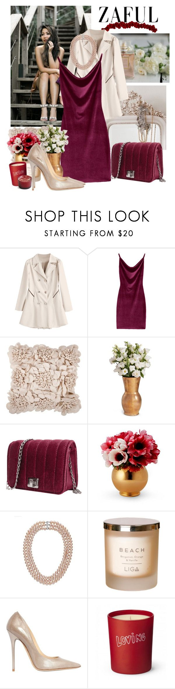 """""""Disco outfit"""" by moni4e ❤ liked on Polyvore featuring Etiquette, Artisan Weaver, Morphic and Jimmy Choo"""