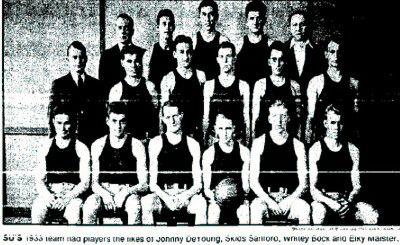 Syracuse Basketball 1932-1933  My uncle Joe :)