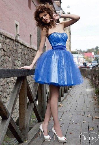 ~ Blue Sensation ~ Idilio Bridal gowns, Couture Wedding dresses, Evening & formal wear, cocktail dresses | Idilio Melbourne