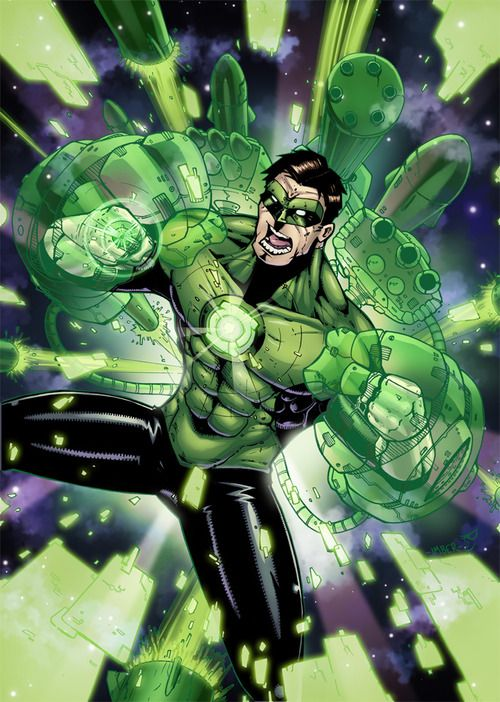 Green Lantern - Chris Imber & Chris Jenkins