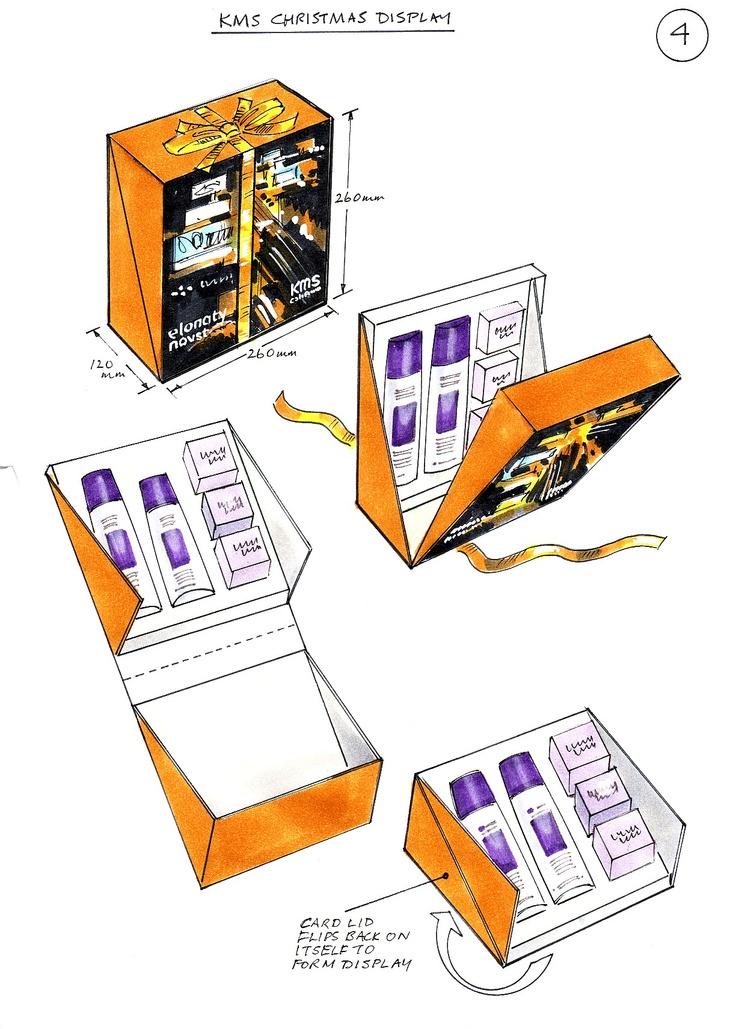 packaging sketch