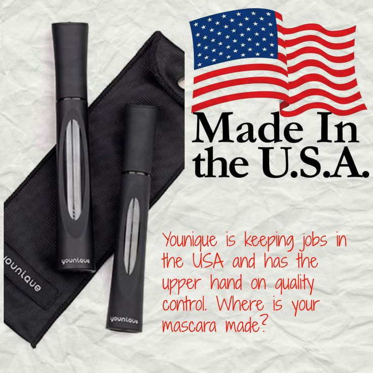Younique's 3D+ Fiber Lash Mascara is made in the USA!! www.youniquecourtneyb.com