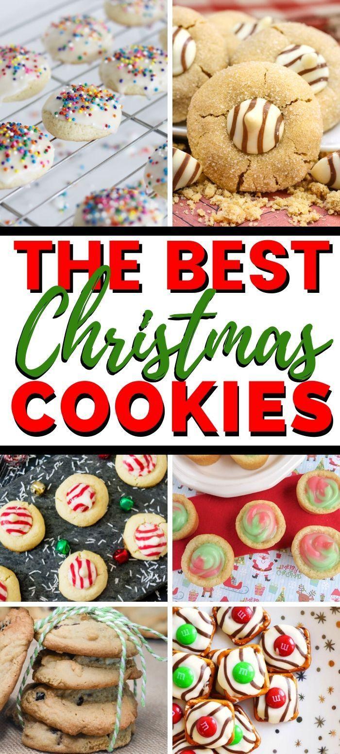 The Best Christmas Cookies Best Christmas Cookie Recipe Best Christmas Cookies Cookies Recipes Christmas