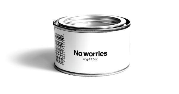 缶のラベルデザイン