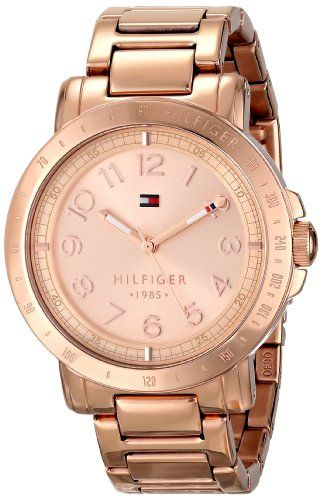 Tommy Hilfiger Women's 1781396 Analog Display Quartz Rose Gold Watch Tommy Hilfiger http://www.amazon.com/dp/B00I0EBHB4/ref=cm_sw_r_pi_dp_88JFub069D7FX