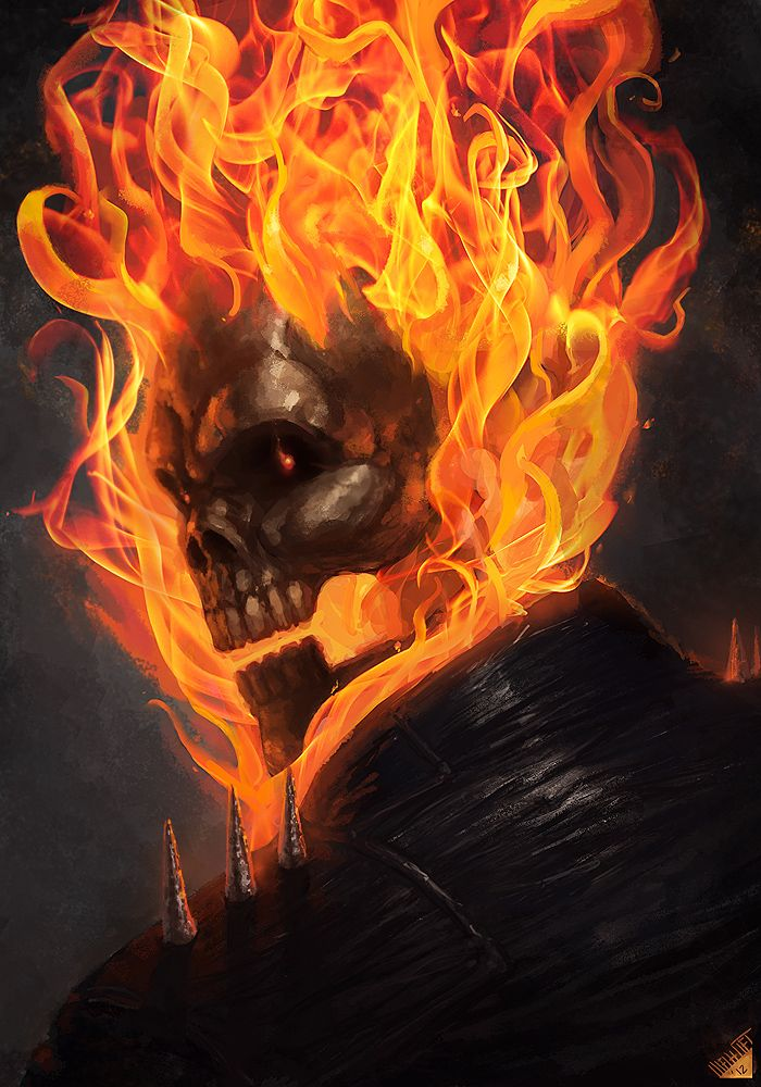 Ghost Rider by Memed.deviantart.com