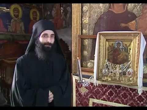 ▶ Монастырь Ватопед, гора Афон - YouTube