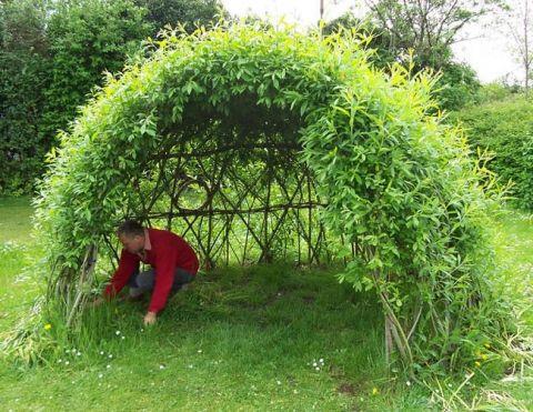 12 Amazing Garden Decorations ( Living Structures ) You Can Create – Natalia Rakhmanova