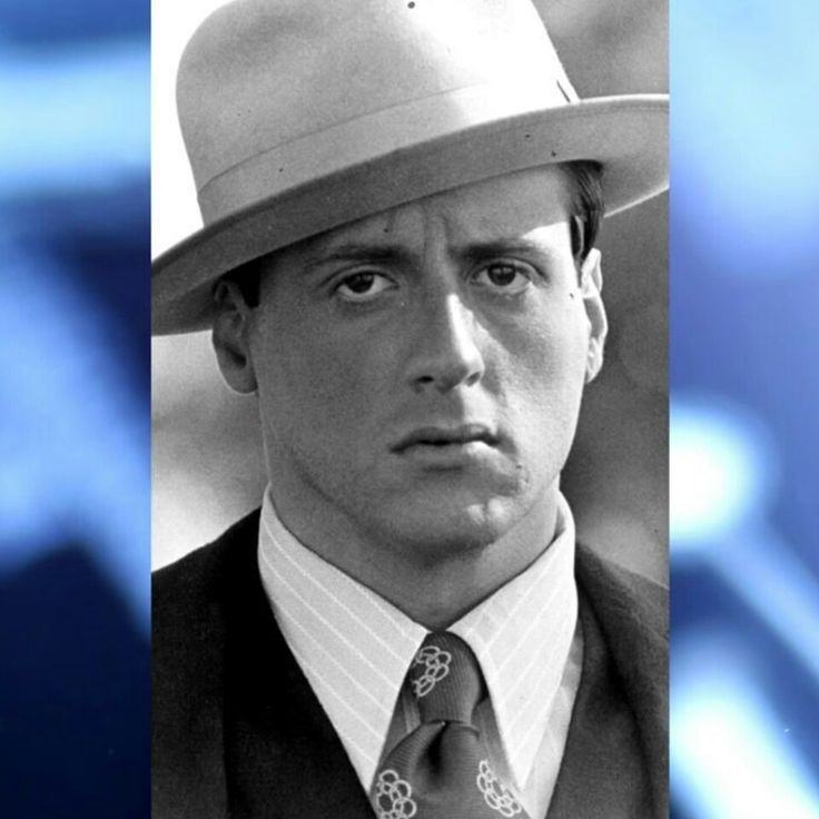 Stallone as Frank Nitti in 'Capone'