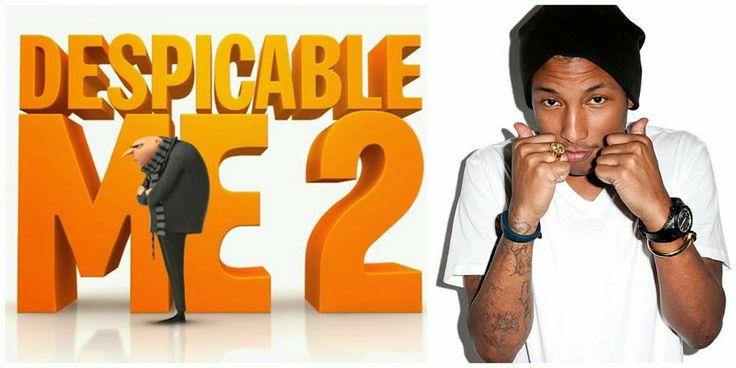 Lirik Lagu Despicable Me - Pharrell Williams | Aneka Lirik Lagu