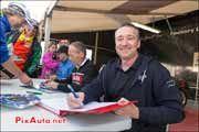 Dedicace Freddie-Spencer, Christian-Sarron, Johnny-Cecotto, Coupes-Moto-Legende