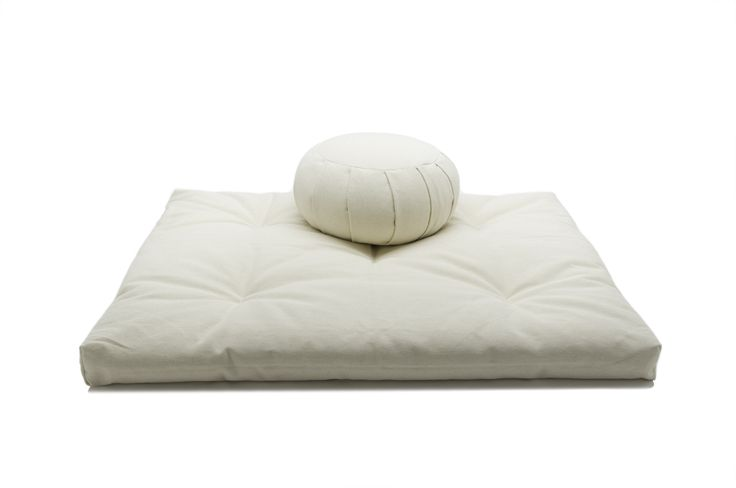 Zafu and Zabuton Meditation Cushion Set Meditation cushion, Meditation and Cushions