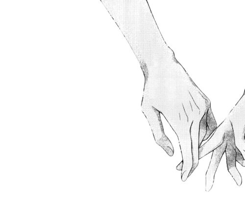 I think that images of hands touching from manga has to be one of my favorite things in the world. I want to see a whole gallery filled with them.