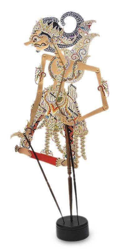 "Balinese Folk Art~~Bali 30"" Handmade Leather SHADOW PUPPET Doll | eBay"