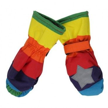 Molo Rainbow Mitzy Ski Gloves