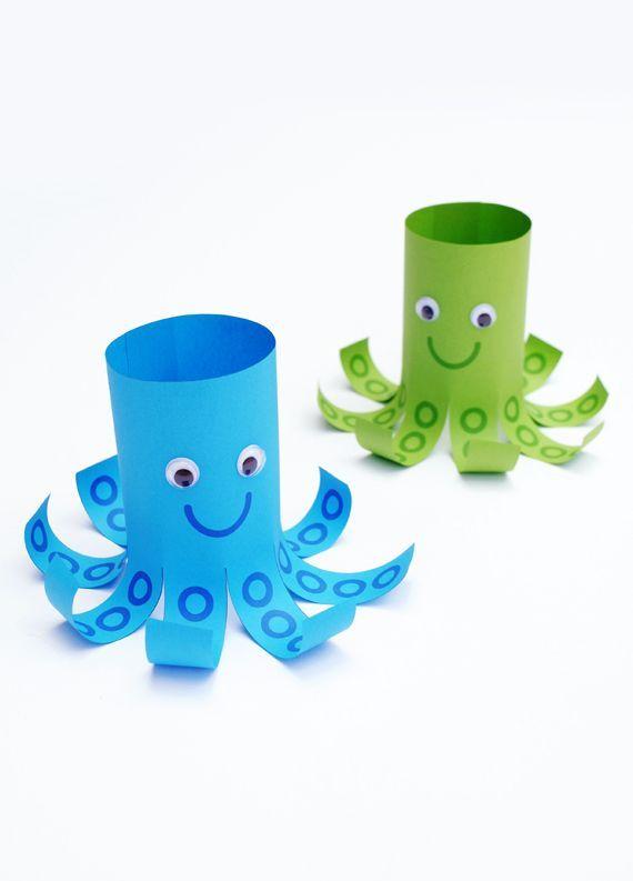 Scherenfertigkeiten / Gerade Linien / Mr Octopus