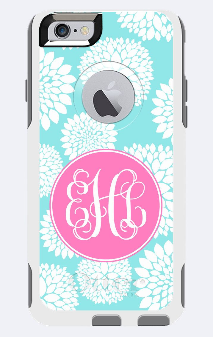 Monogrammed Otterbox Commuter Case iPhone 5c, iPhone 5/5s ...
