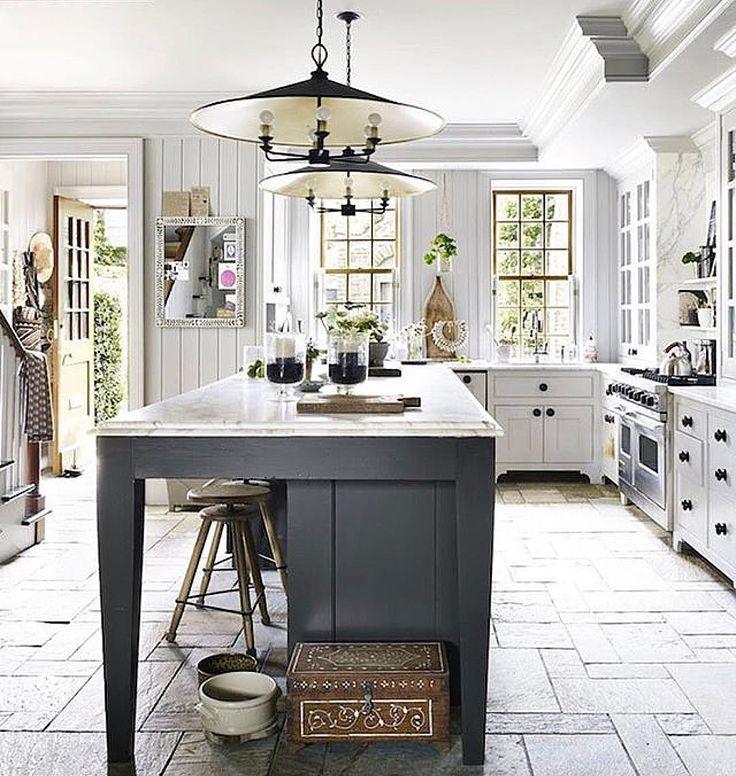 Italien, Einrichtung, Haus Küchen, Träumen Küchen, Bauernküchen, Weiß Küchen,  Moderne Bauernhaus, Küche Designs, Küche Ideen