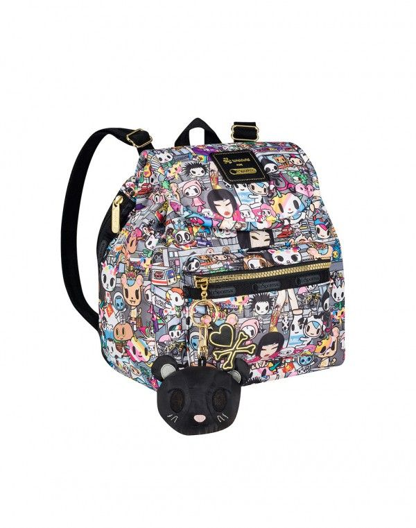Tokidoki X Lesportsac Piccolina Pack Tokidopoli Simonelegno For Pinterest Backpack Purse Purses And Bags