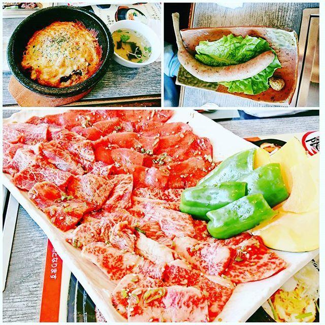 今日のlunch🤣  お久しぶりの焼肉😋  #焼肉 #今日のlunch #お昼ご飯 #肉 #肉最高 #美味しいもの #美味しかったよ #ご馳走様でした