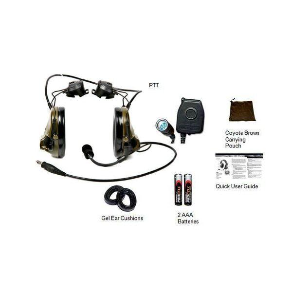 3M Peltor 88060-ARC COMTAC III ARC Headset Kit / Single COMM