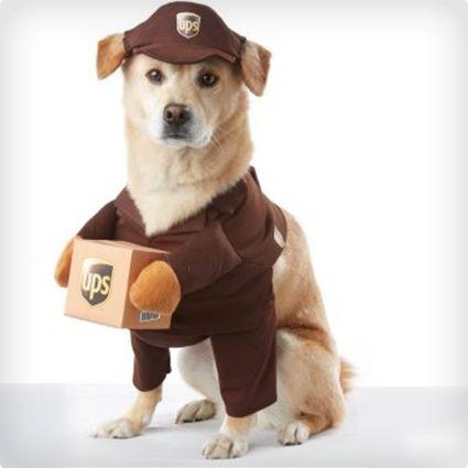 UPS Man Dog Costume