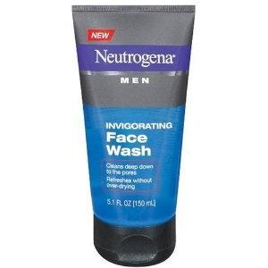 #10: Neutrogena Men Invigorating Face Wash, 5.1 Ounce: 51 Ounc, Men Invigor, Faces Wash, Invigor Faces, We Grooms, Face Wash, Neutrogena Men, 5 1 Ounc, Men Faces