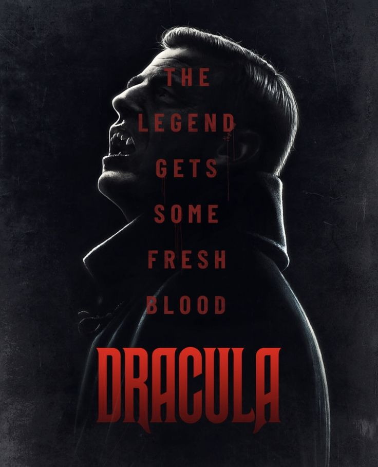 Dracula Movie Poster In 2020 Dracula Tv Series Dracula Series