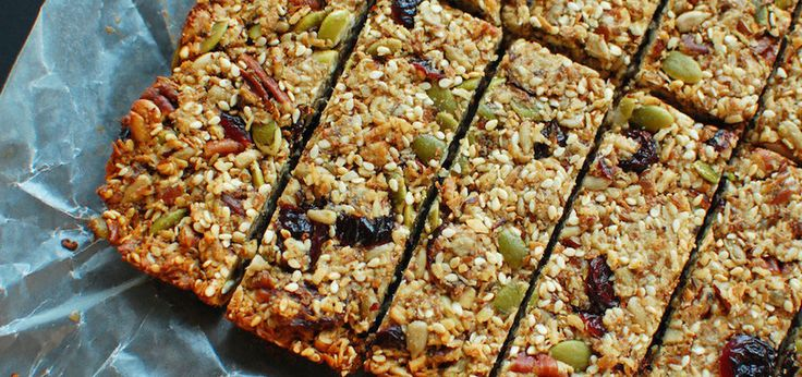 Cranberry Protein Bars (Sweetened Only With Raw Honey)