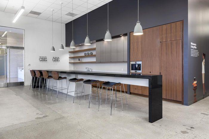 Pivot- Costa Mesa Showroom Herman Miller Living Office Design