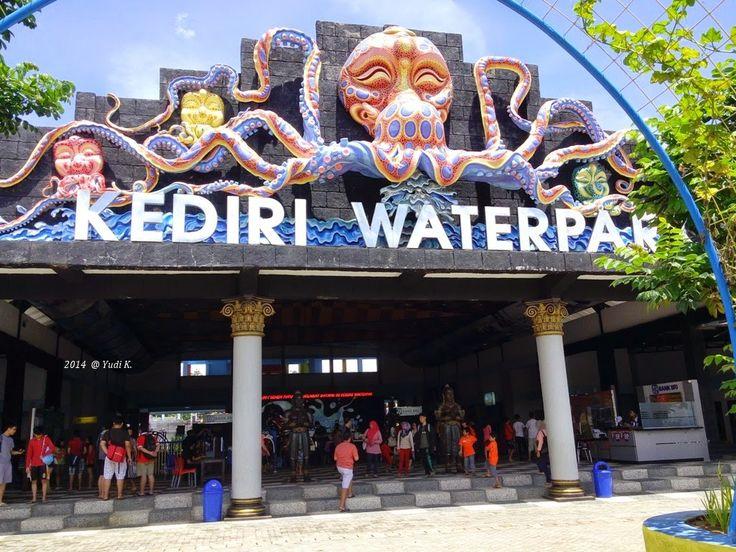 Waterpark Slide Kediri Terpanjang Di Asia