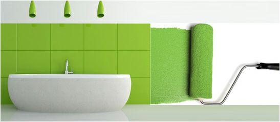 con la gama de pinturas para azulejos puedes cambiar tu bao sin necesidad de obras solo tienes que pintar tus paredes de otro color es una pintu