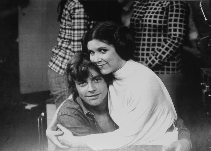 Star Wars Forever — tallian:   Carrie Fisher and Mark Hamill