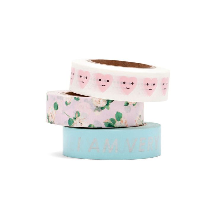 stick with it paper tape set, set of 3 - ban.do