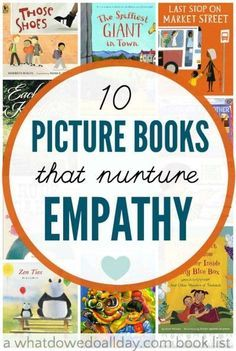 Children's picture books to teach empathy, understanding and entitlement to kids.