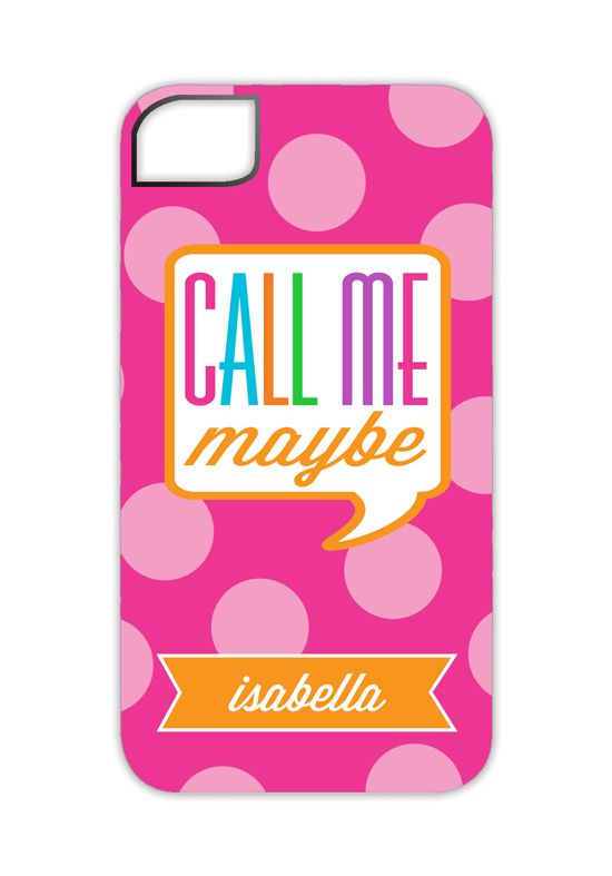 You're teen will love this Polka Dot Call Me Maybe iPhone 4/4S Case.