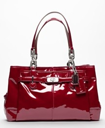 Coach Chelsea Patent Leather Carryall in WinePatent Leather, Jayden Carryall, Handbags, Coaches Bags, Shades Of Red, Totes Bags, Chelsea Patent, Coaches Pur, Coaches Chelsea