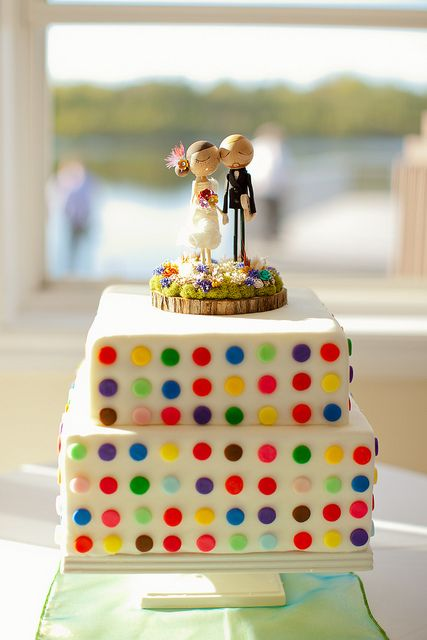 Colorful and sweet cake