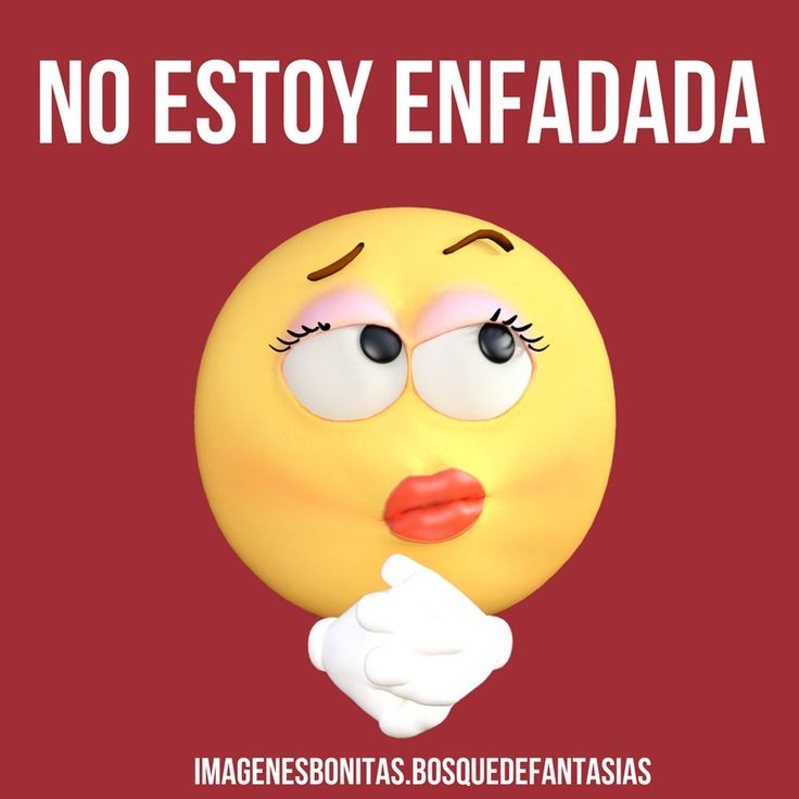 emoticono enfadado