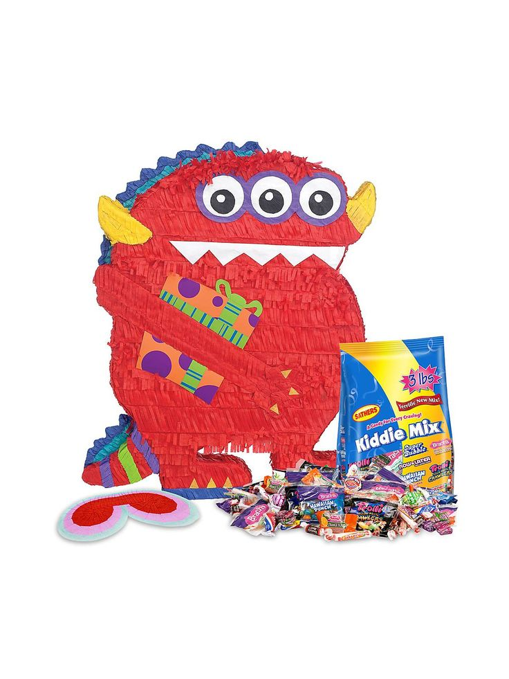 Monster Piñata - Monster Party Supplies