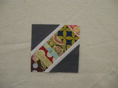 I love these scrappy string blocks. They look so cute lined up next to each other. Here is another picture of them: http://www.quiltdad.com/2012/01/october-november-quilting-bee-blocks.html
