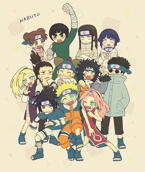 Naruto Fanart Rookie 9 Pics: 74 Best Images About The Rookies On Pinterest