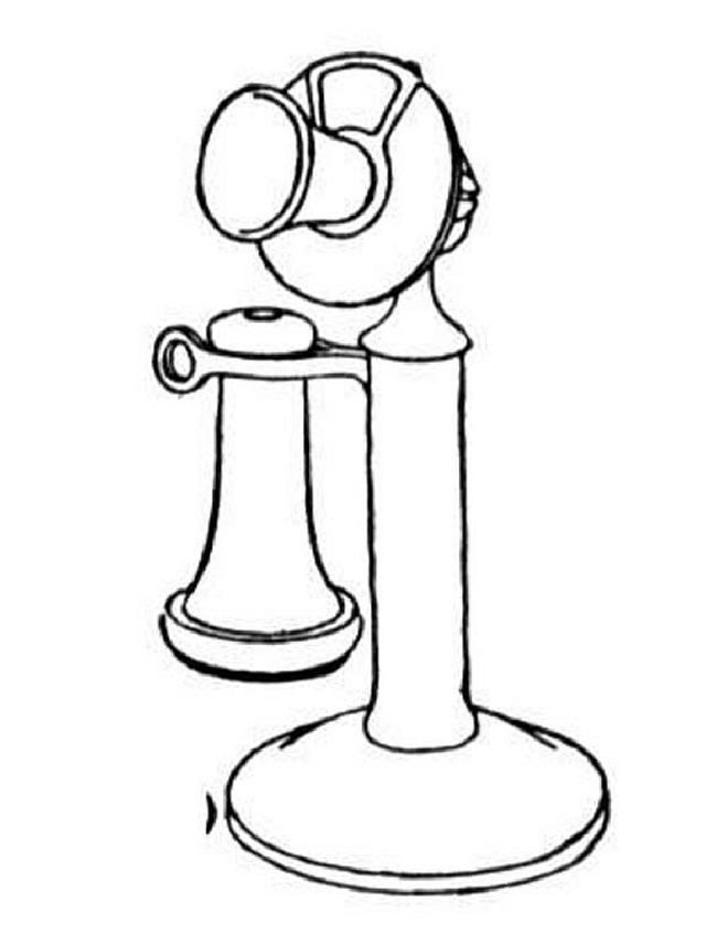 Telephone Coloring Pages Coloring Pages, Color, Healthy Filling