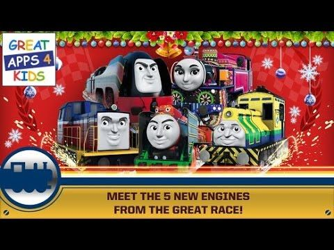 Thomas & Friends: Race On! | Christmas Update and 5 New Engines - HD Gam...