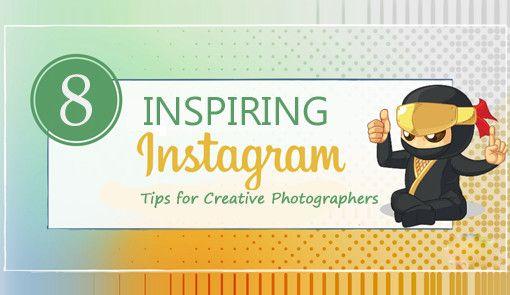 8 Inspiring Instagram Tips for Creative Photographers.Check out here:https://goo.gl/9SRLYR