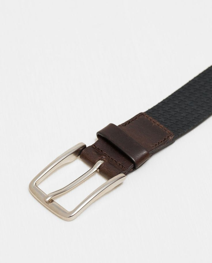 ZARA - MAN - HOUNDSTOOTH BELT
