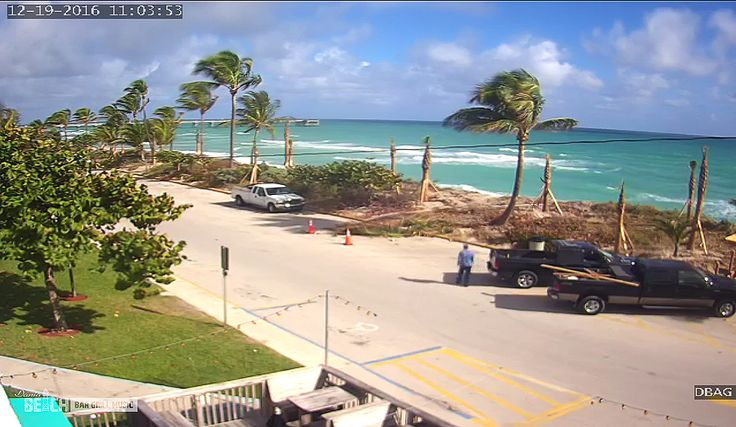 The Dania Beach Bar Grill Music has a new, live-streaming web camera at our location on Dania Beach, Florida.