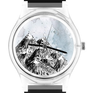 Mountains Watch Unisex, 37€, now featured on Fab.